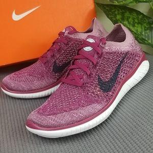Nike Free Rn Flyknit 2018 Raspberry Red Wo…